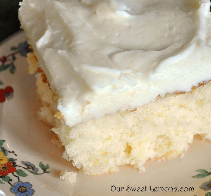 Our Sweet Lemons: Crushed Pineapple Cake