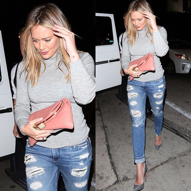 You won't believe where Hilary Duff got her outfit from!
