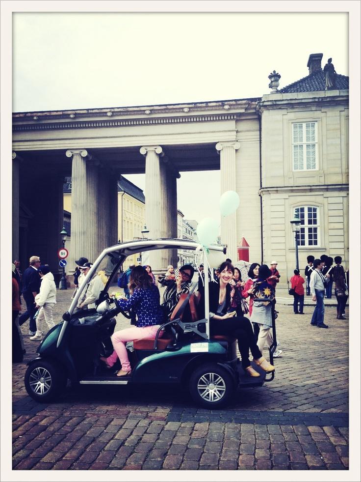 #blognhagen by cart at the castle http://bycart.dk/: Blognhagen