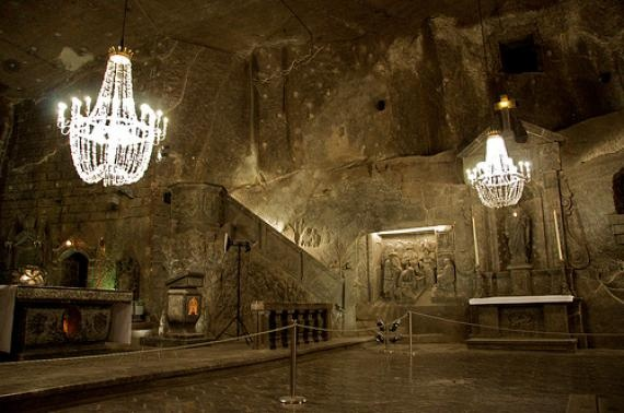 The Wieliczka Salt Mine in Poland is the epitome of technological human progress. The beginnings of the current mine are believed to have been primitively excavated after the discovery of a rock salt deposit in ancient times. In the middle ages, salt became recognized as one of the most important staples in the food and preservation industry, leading to the advancement of salt mining technology and further excavation.