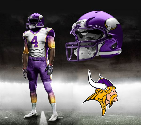Are the Minnesota Vikings getting new uniforms and logos in 2013? Possibly. Here's what we know of the updates (click link).