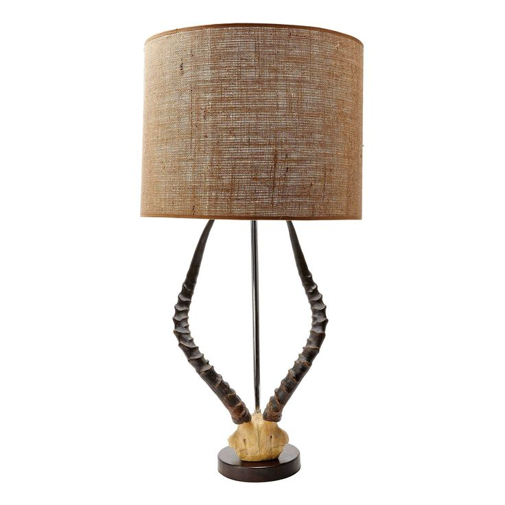 Lazy Susan 31 in. Brown Table Lamp