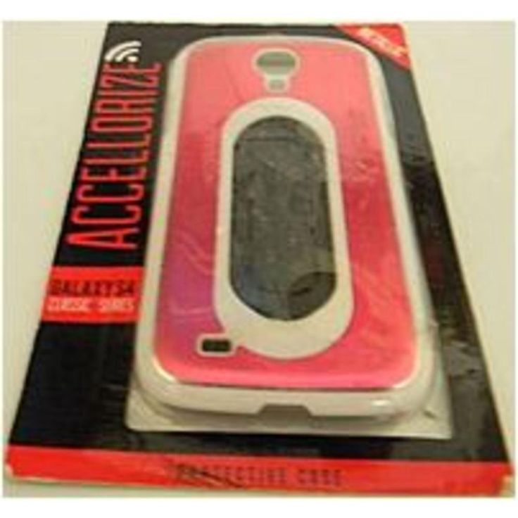 Accellorize 890968406231 i337 Metallic Protective Case with Stand for Samsung Galaxy S3 - Pink