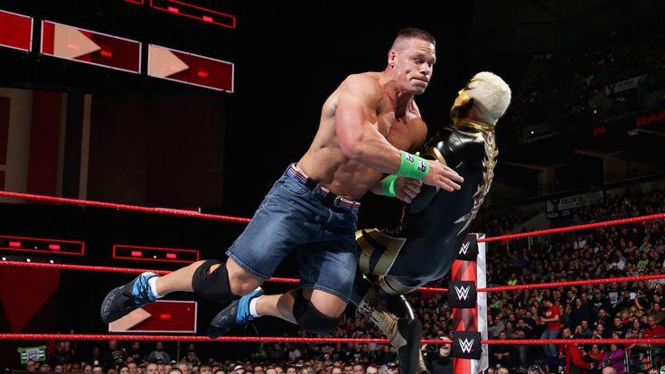 John Cena vs. Goldust: Raw, March 5, 2018 http://www.wwe.com/videos/john-cena-vs-goldust-raw-march-5-2018?utm_campaign=crowdfire&utm_content=crowdfire&utm_medium=social&utm_source=pinterest