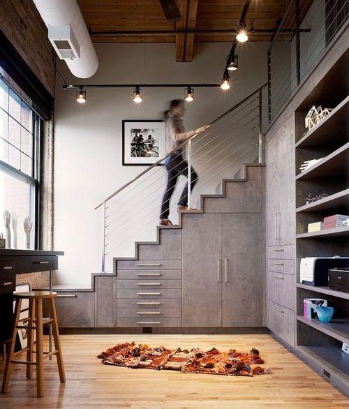 storage / stairs / loft