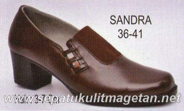 Sepatu Kulit Pantofel Wanita RZ Sandra