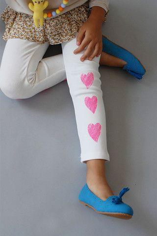 the | lovey | leggings - WUNWAY