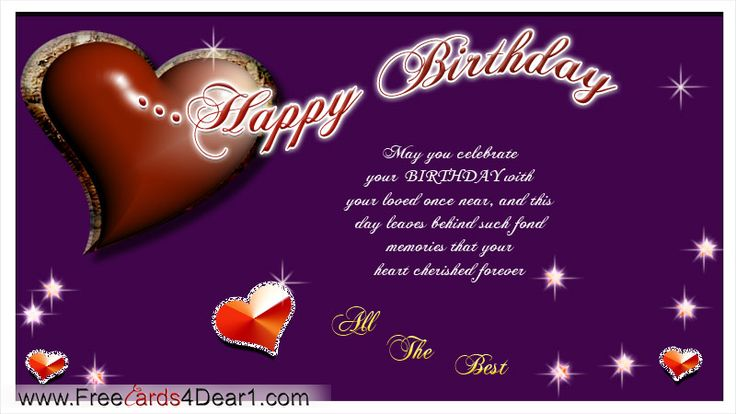 Pin by Cecille postrano on Birthday Cards Pinterest – Free Birthday Greeting Cards