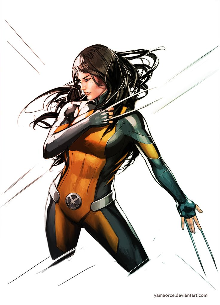 Image from fantasy and syfy..with some cats..NSFW — exotication:   X23 by YamaOrce