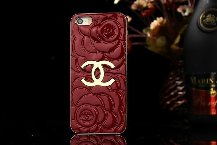 Chanel iphone 6 Case Designs Luxury Cover rose red