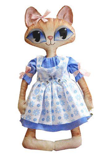 Linda gatita de ojos grandes