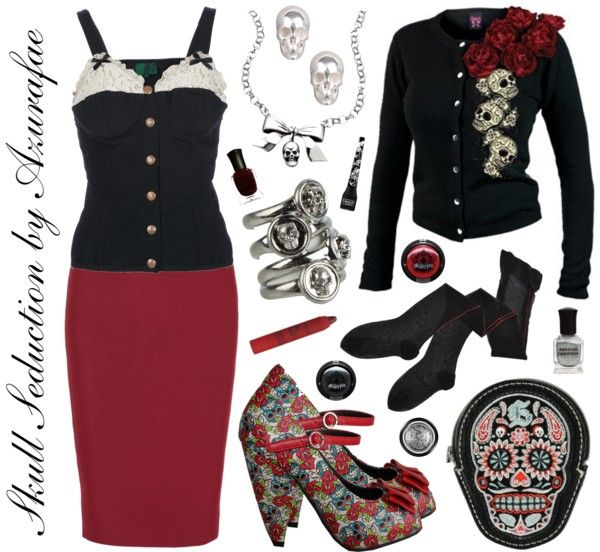 so cute rockabilly outfit wouldn't change anything