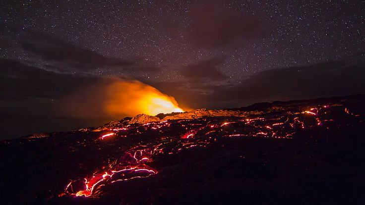 Hawaii Volcanoes. I have photographed each of the 59 US National Parks, often with an ancient-looking large-format camera. The volcanoes of ...