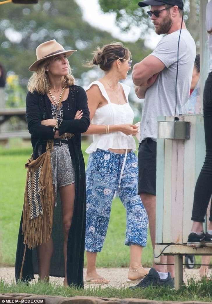 Al parecer la esposa de Chris Hemsworth se hartó de su vida juntos y armó una tensa pelea en público