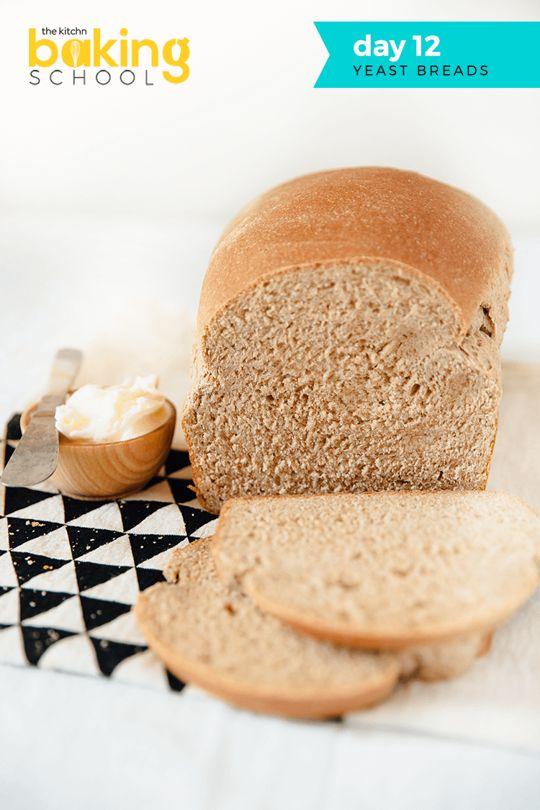 Baking School Day 12: Basic Yeast Bread