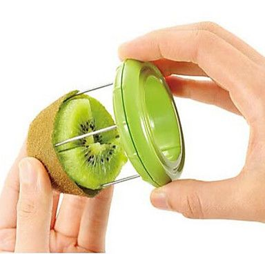 Novelty Kiwi Fruit Slicer Skinner Stripper Kiwi Fruit Divider Color Randomly – GBP £ 2.79