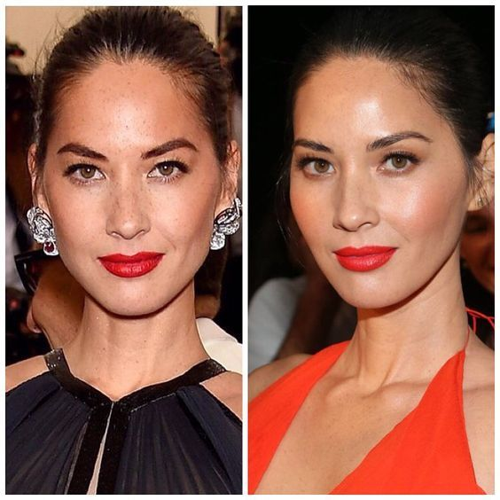 """Olivia Nunn's 1 year comparison to demonstrate her """"aging backwards"""" thanks to eating a hyaluronic acid superfood daily.I bet that if you were to take a look at all of your facial rejuvenationproduct"""