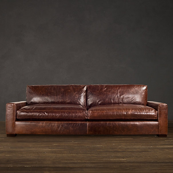 Restoration Hardware S Maxwell Sofa Possibly The Very Nicest Thing