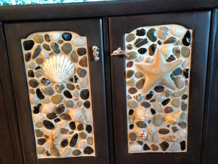 Fish tank cabinet doors I made