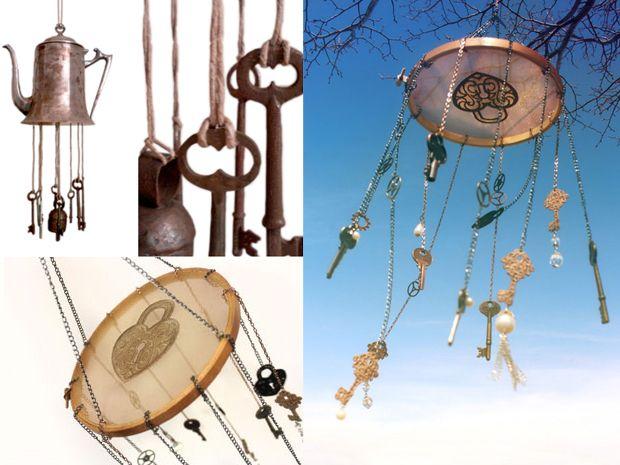 I sonagli a vento fai da te per il giardino - Rubriche - InfoArredo - Arredamento e Design per la tua casa
