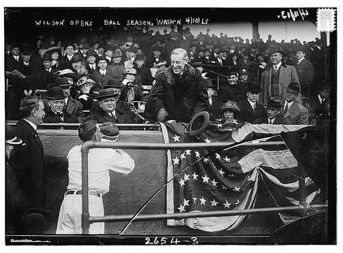 Image result for 1913 Opening Day in Washington DC baseball photos