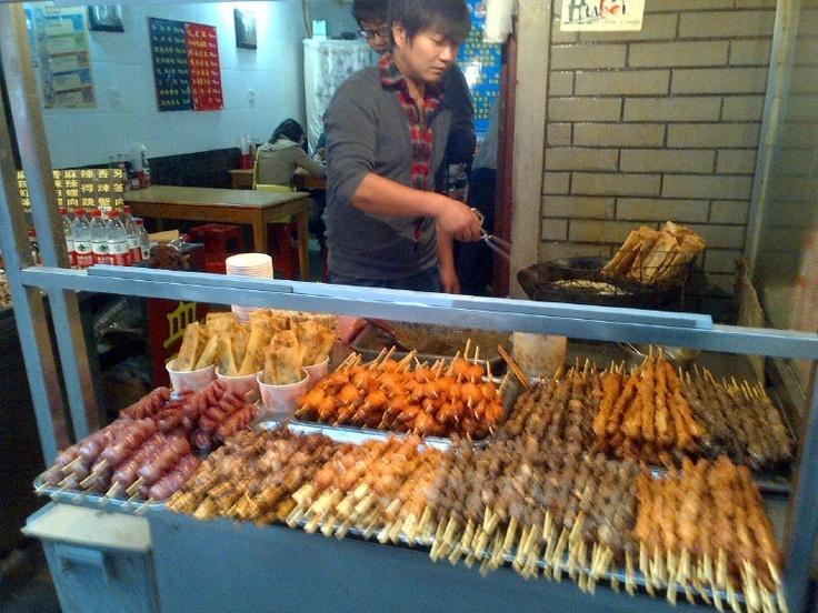 Enough kebabs? Wuhan, China
