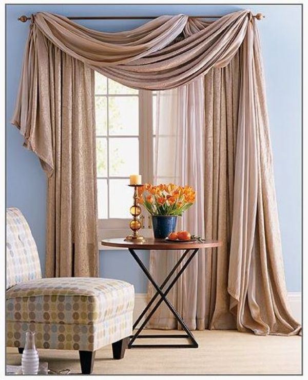 35 creative ways to hang curtains like a pro windows - Unique ways to hang curtains ...