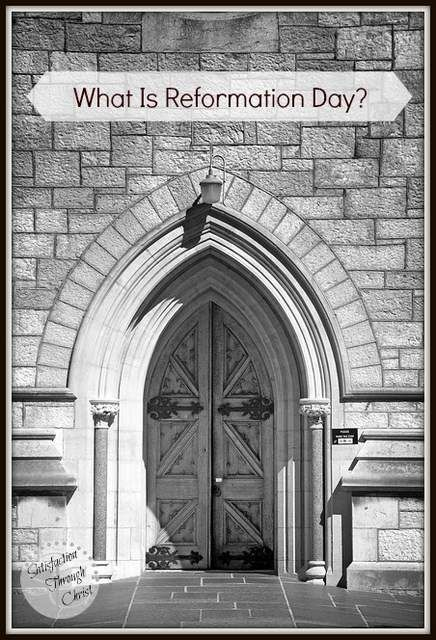 What is Reformation Day? | The Protestant Reformation. Outside of Biblically recorded events and the closing of the canon of Scripture, it is arguably the most important event in church history, and one of the most important events in world history as well, yet many Christians today are unaware of this landmark incident in their heritage which birthed the Protestant church. Find out more here!