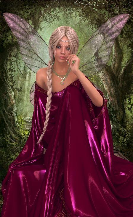 Beautiful faerie