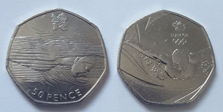 London olympic #games 2012 #swimmer rare + gb #swimming 2016 50p coins set,  View more on the LINK: 	http://www.zeppy.io/product/gb/2/262730630972/