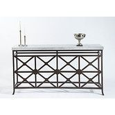 "Found it at Wayfair - Eton Manor Console Table  35"" H x 66"" W x 14"" D, 197 lbs"