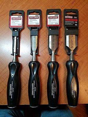 Chisels 178972: New Made In Usa Craftsman 4 Piece Wood Chisel Set -> BUY IT NOW ONLY: $42.95 on eBay!