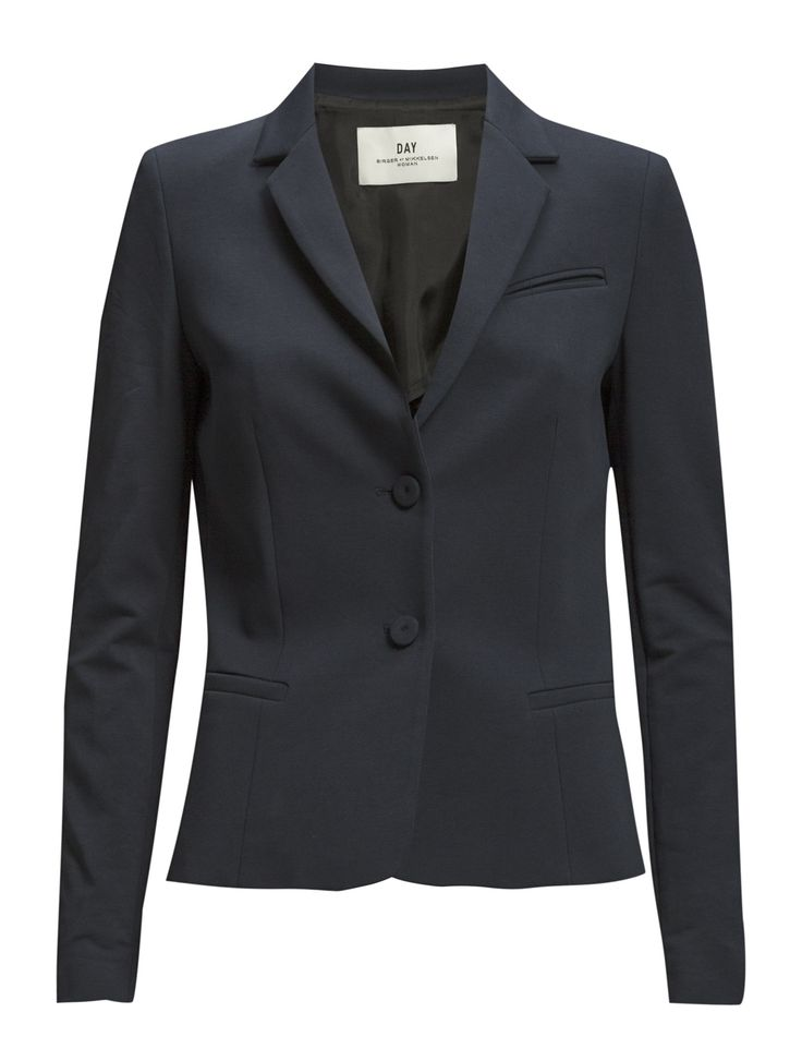 DAY - Day Sweat Welt pockets Fitted silhouette Notched lapel Pieced sleeves Elegant sophistication with a modern twist