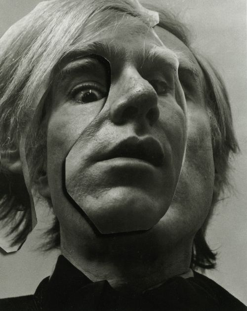 Andy Warhol, 1973 by Arnold Newman