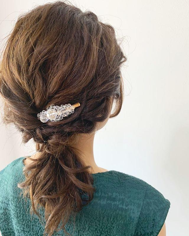 大人ヘアアレンジ ピアノの発表会 ドレスに合わせてヘアアレンジはシンプルに Creer For Hair クレール 鴨池美容室 鹿児島美容室 Hair ヘアアレンジ 大人ヘアアレンジ シンプルアレンジ ゆるアレンジ 大人可愛いヘア ヘアセット Kotomi Ikatsuki Hair Girl Fashion