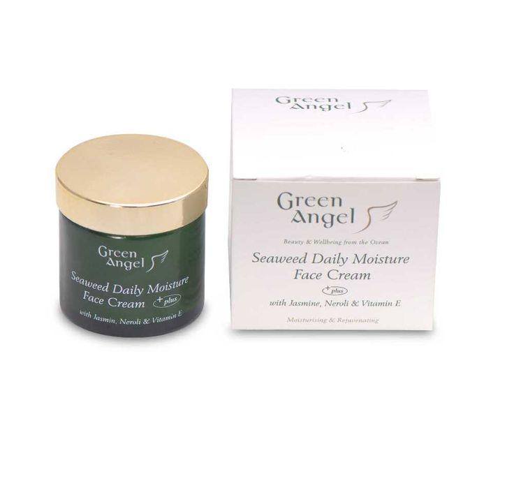 Green Angel Daily Moisture Cream - Made in Ireland from Irish Seaweed - www.standun.com