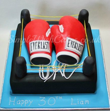 23 Best Boxing Cake Images On Birthday And Birthdays