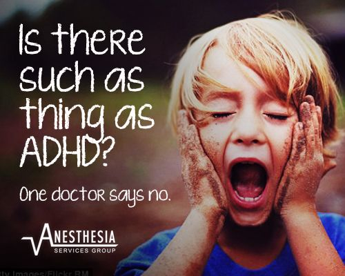{On the Blog} Is there such a thing as ADHD? One Chicago doctor says no?