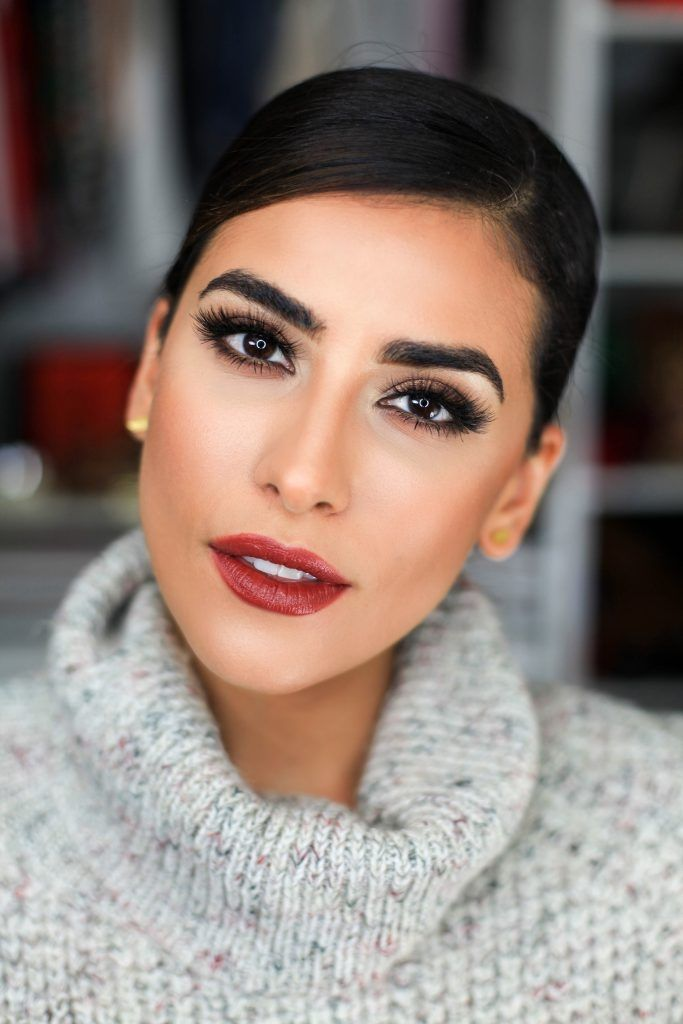 Winter beauty look inspiration