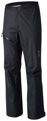 The super-packable, ultra-light shell pant that's always in your pack. VaporDry™ technical 2.5-layer construction for unrivaled comfort with outstanding performance. Great for backpacking, hiking, and light mountaineering; it's the all-around wet-weather go-to pant.