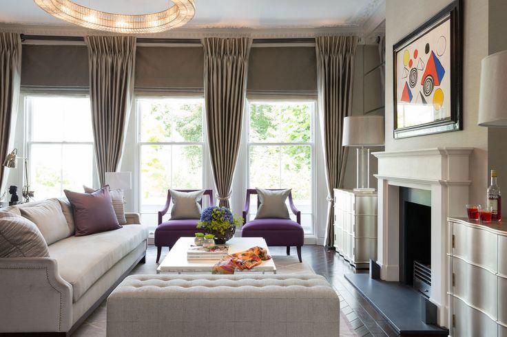 Primrose Hill apartment - main living room