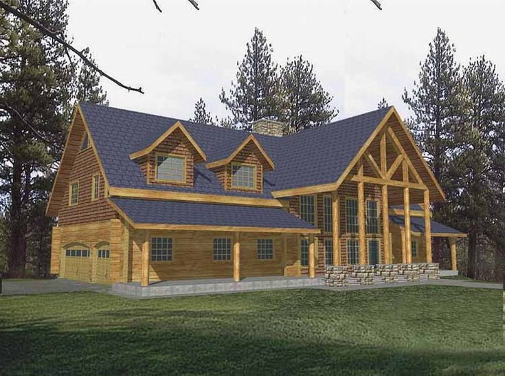 log cabin home plans designs. 155 best house plans images on Pinterest  Architecture Craftsman floor and Dream houses