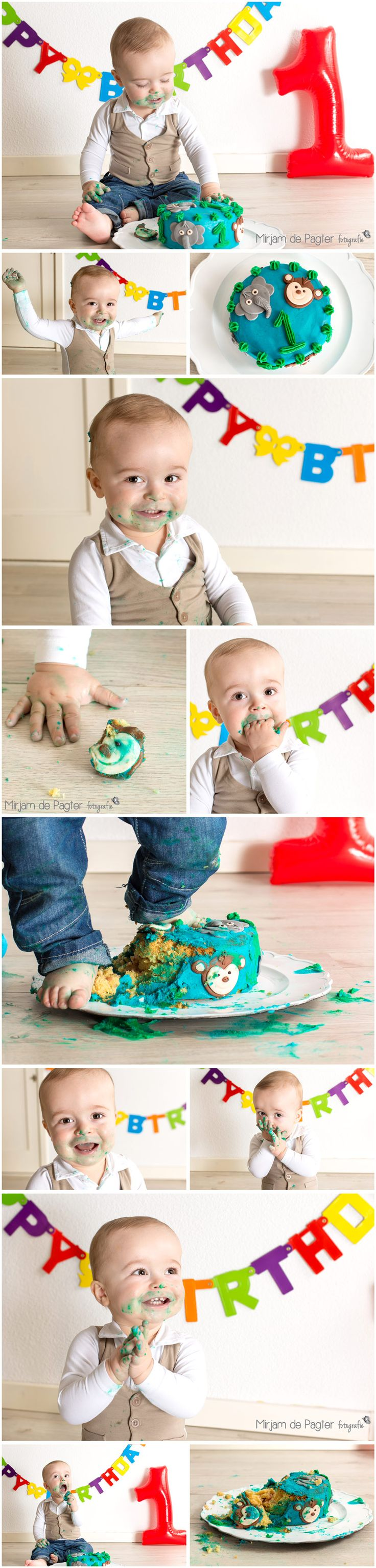 Hoera! Joshua is 1 jaar!
