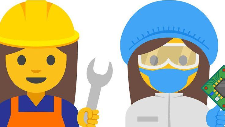 Mit Mistgabel oder Schweißgerät: Google zeigt neue Frauen-Emojis