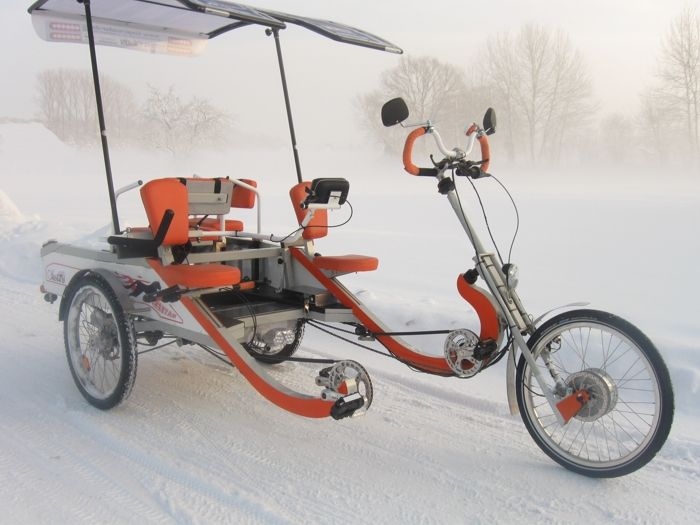Harry S Keyony Tandem Family Cycle Side By Side Recumbent