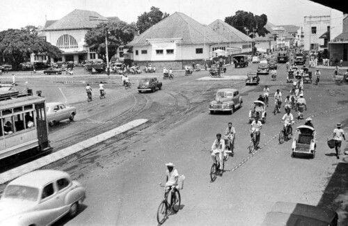 Kanyor Pos Kebonrodjo circa 1940