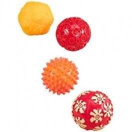 b toys rubberen speelballen   ilovespeelgoed.nl