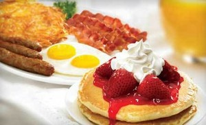 Groupon - $7 for $14 Worth of Breakfast and Diner Fare at IHOP in Orland Park. Groupon deal price: $7.0.00