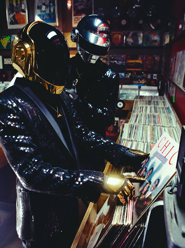 Daft Punk. Vinyl Lovers, obviously... #daftpunk #vinyl #vinyllovers
