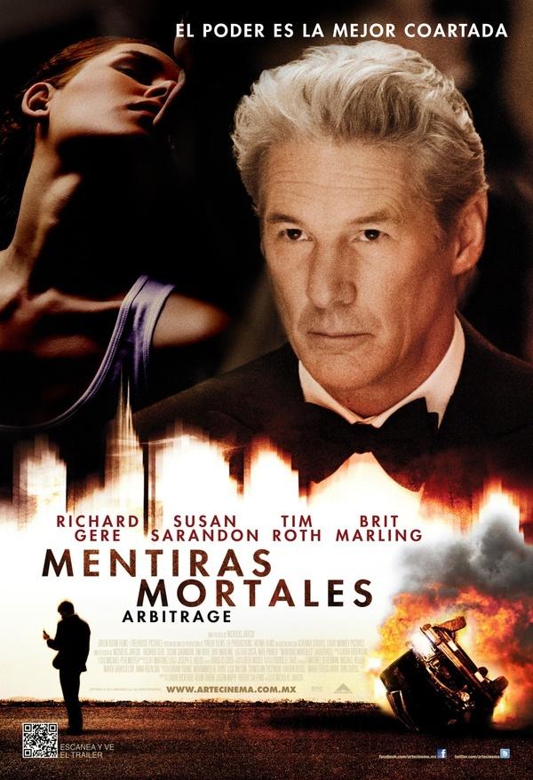 Mentiras Mortales Arbitrage Movie Posters Richard Gere Movies